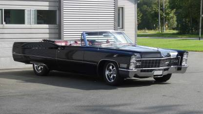 Cadillac De Ville 1967 Convertible (30)