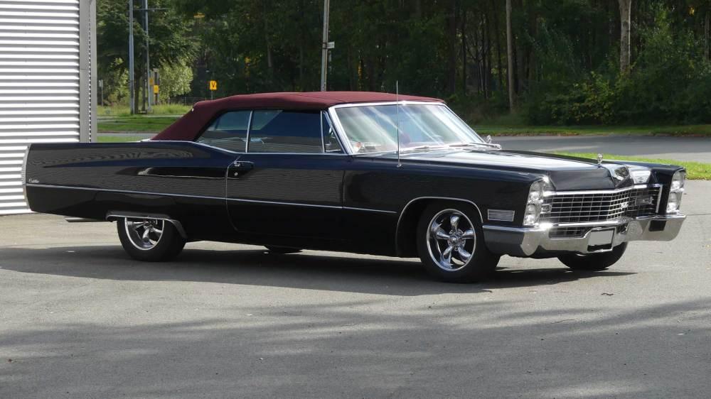 Cadillac De Ville 1967 Convertible (6)
