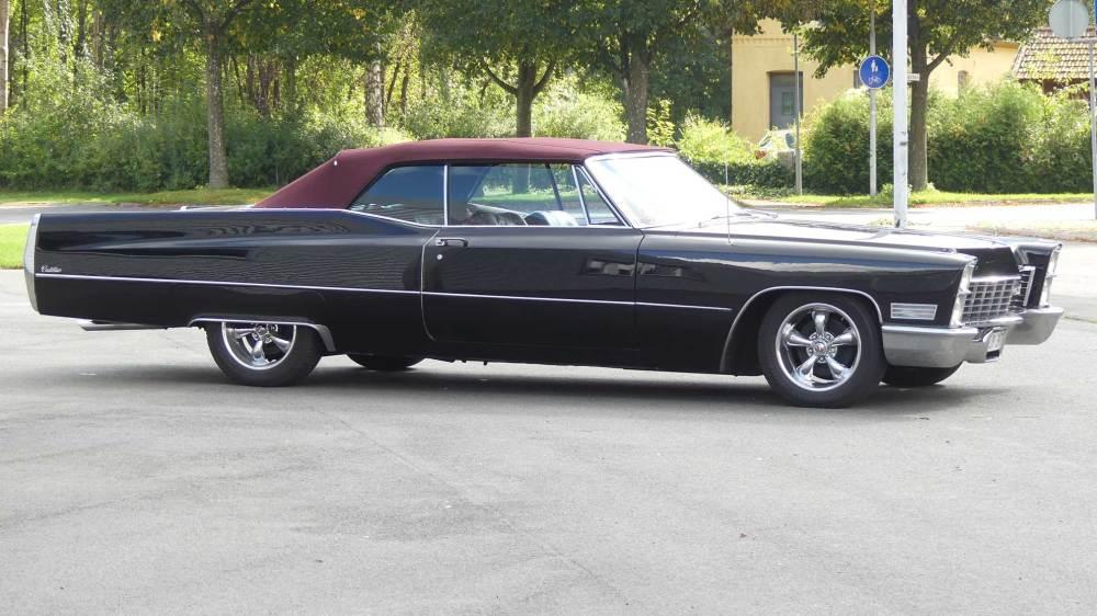Cadillac De Ville 1967 Convertible (7)