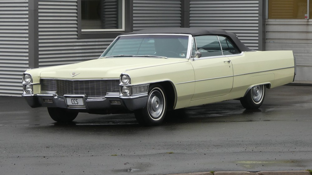 Cadillac Deville 1965 Convertible (3)