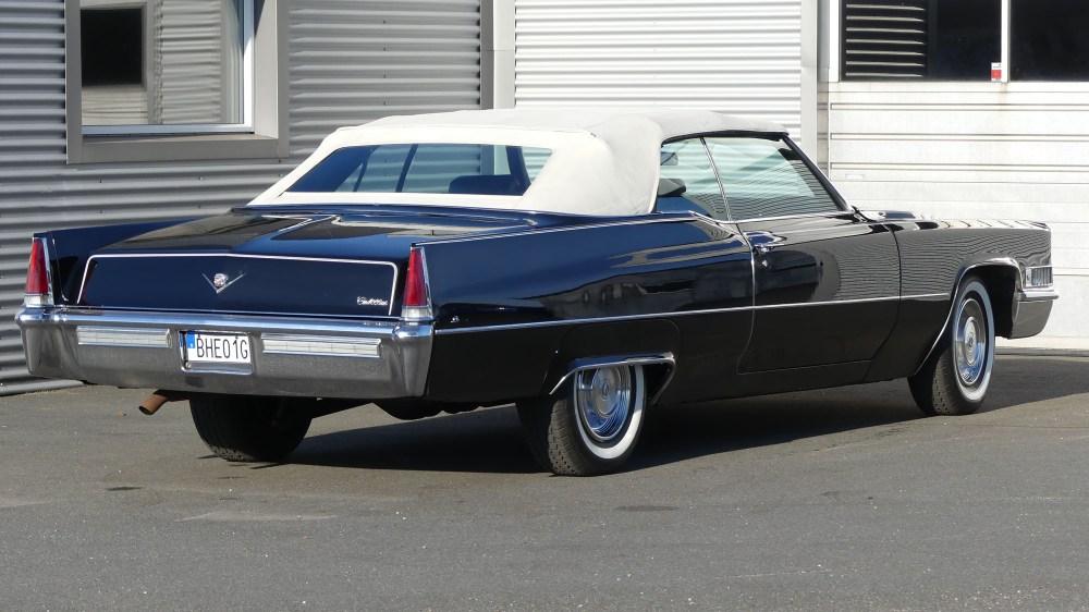Cadillac Deville 1969 Convertible (14)