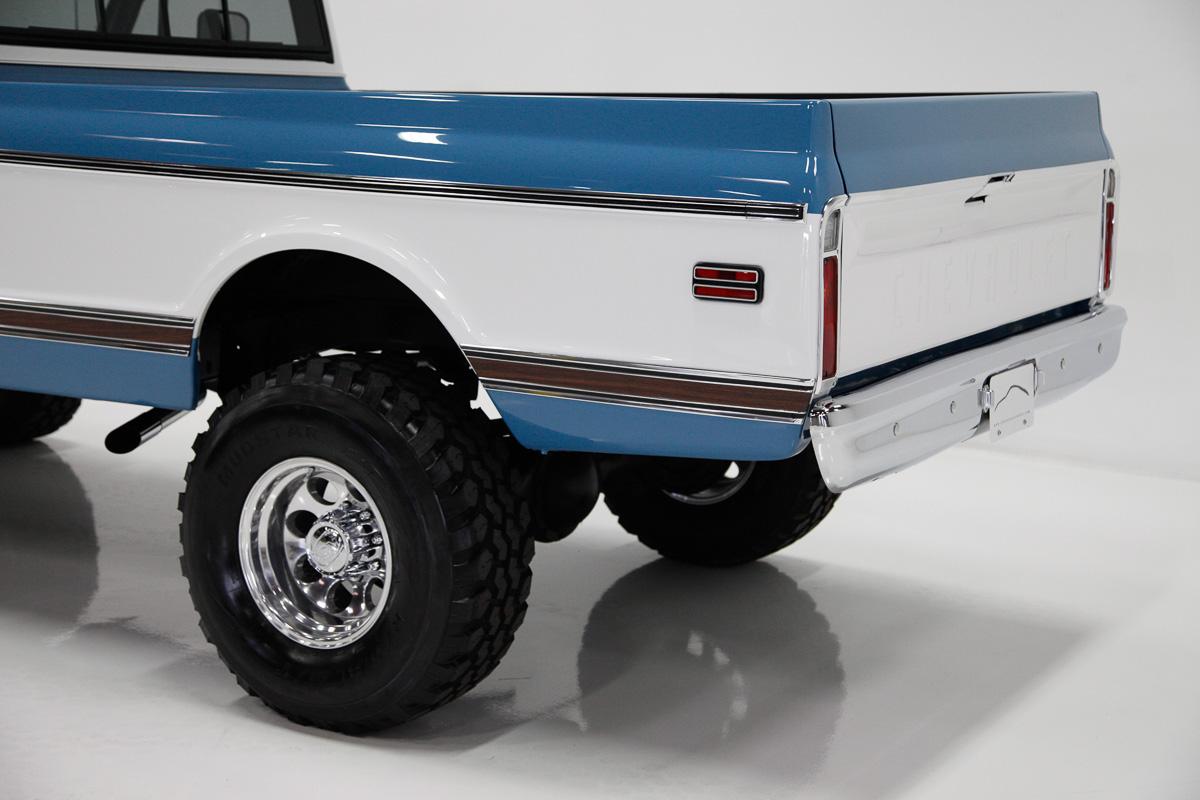 1971 Chevrolet K20 Paint Job CCS Speed Shop