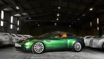 Aston Martin Vanquish Zagato Roadster Prototype - 2004 aston martin vanquish