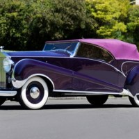 Purple Rolls-Royce