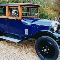 Five Pre-1920 Cars