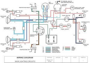 Sample Diagram  CLASSIC CAR WIRING DIAGRAMS