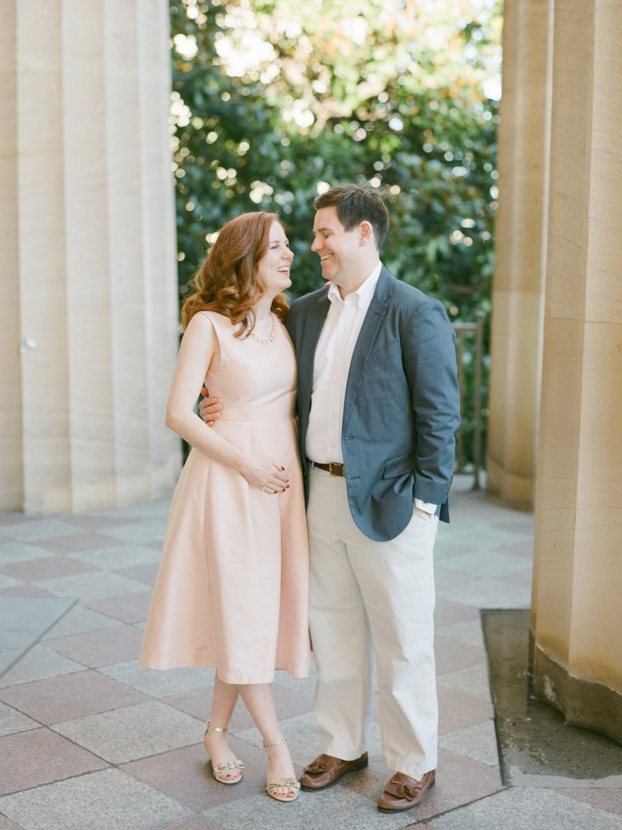 A Very Special Anniversary Session to Share Some Joyful News