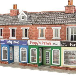Metcalfe brick shop fronts
