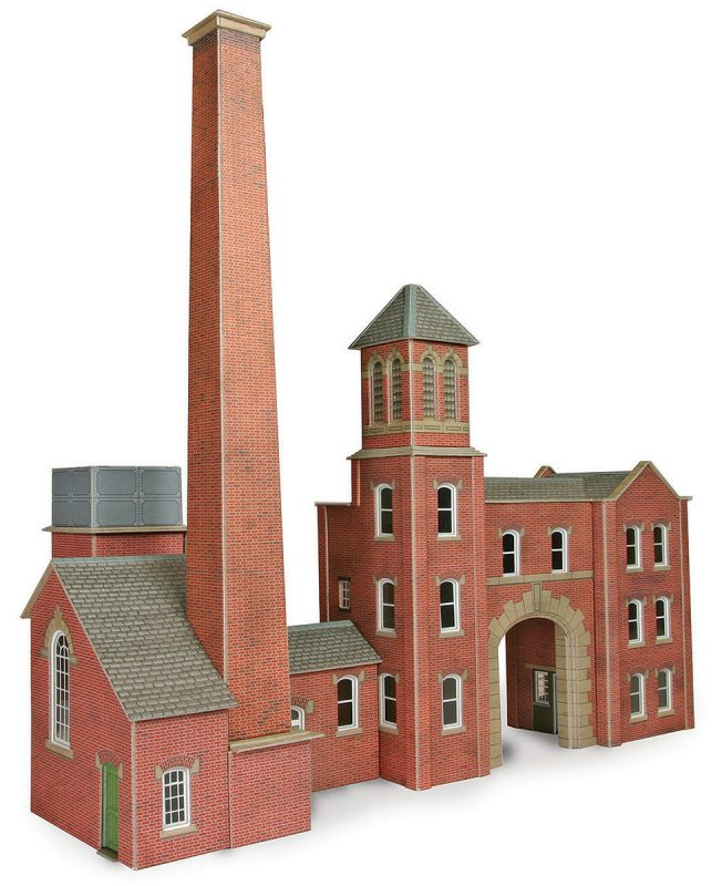 00 Scale Boiler House & Chimney
