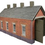 00 scale, Single Track Engine Shed