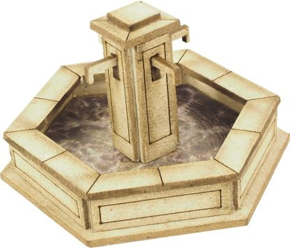 PO522 00 Scale Stone Fountain
