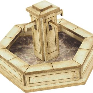 PO522 00 Scale Stone Fountain
