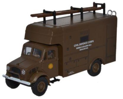 Bedford OY van. Civil defence.