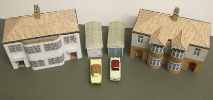 Semi detached houses
