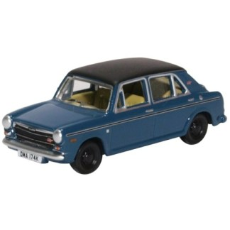 Oxford Models 1-76 Austin 1300 in teal Blue.