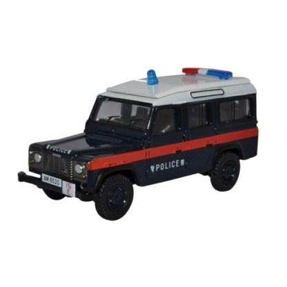Oxford Models 1-76 Land Rover LWB Station wagon. Hong Kong Police.