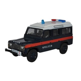 Oxford Models 1-76 Land Rover LWB Station wagon. Hong Kong Police.