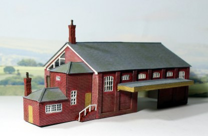 Arch N goods shed
