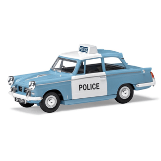 Vanguard, Triumph Herald, Monmouthshire Constabulary, 1:43 Metal Model