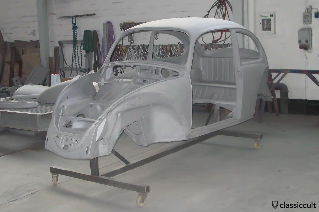 My 1965 1200 A VW Beetle Restoration