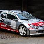 2002 Peugeot 206 Wrc Ex Vatanen Salonen Huge History Classic Driver Market