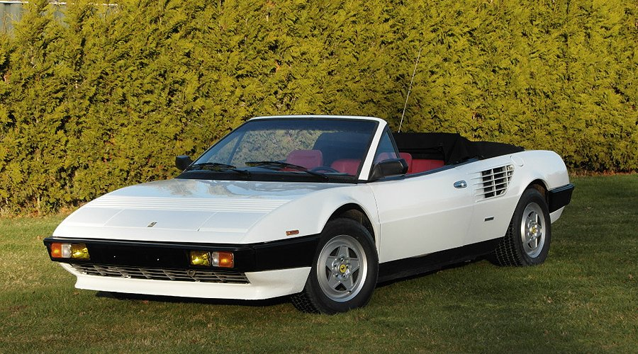 Ferrari Mondial Cabriolet: A diva, so pure and white as fresh snow