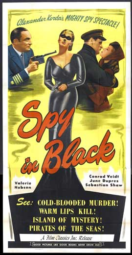 The Spy in Black (1939) with Conrad Veidt