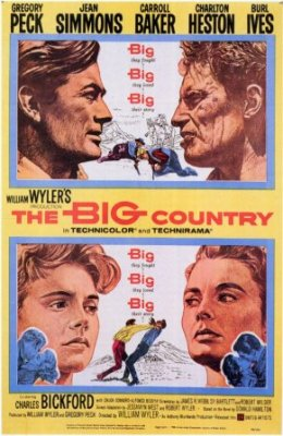 The Big Country (1958) with Gregory Peck
