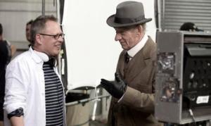 2015 Mr Holmes Ian McKellen talks to the director behind the scenes