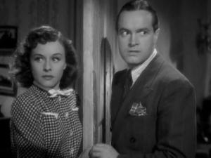 1939 Cat and the Canary Bob Hope and Paulette Goddard 2