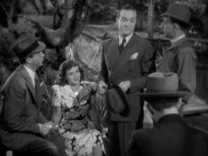 1939 Cat and the Canary Bob Hope and Paulette Goddard 3