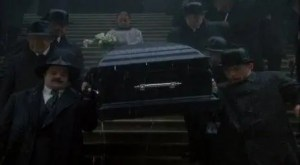 1997 Mouse Hunt Nathan Lane and Lee Evans Funeral