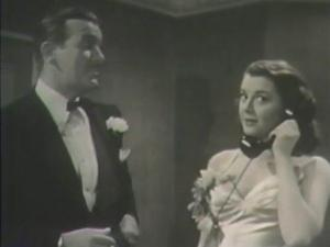 1946 Inside Job Ann Rutherford and Preston Foster
