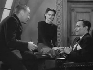 1943 Background to Danger George Raft, Peter Lorre and Brenda Marshall