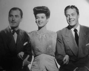 What a Woman 1943 Rosalind russell, Brian Aherne and Willard Parker