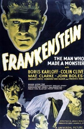 Frankenstein movie poster 1931