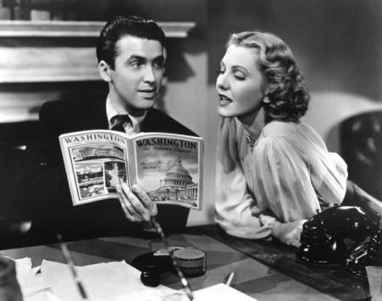 1939 Mr Smith Goes to Washington jean arthur jimmy stewart
