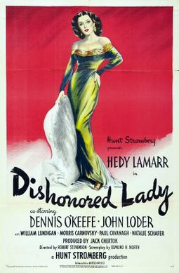 1947 Dishonored Lady