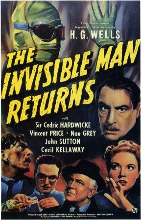 1940 the invisible man returns