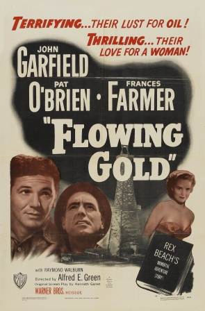 1940 Flowing gold poster