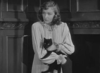 1945 My Name is Julie Ross nina foch cat