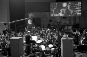 Tiomkin recording 55 Days at Peking