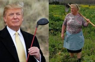 Woman Who Looks Like Trump Goes Viral