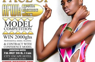 Ghana's Next Runway Queen/King? Face Of AFWk18 Audition