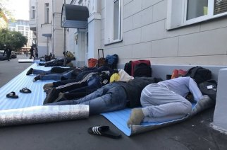 This Is How Penniless And Homesick Nigerian World Cup 'Fans' Got Stranded In Moscow