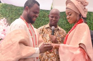 Becca Ties Knot With Longtime Nigerian Fiance