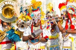 Junkanoo carnival in the Bahamas