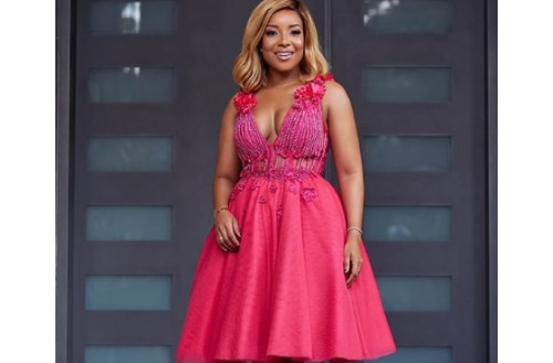 Joselyn Dumas In Pink Fashion Style For Breast Cancer Awareness Month