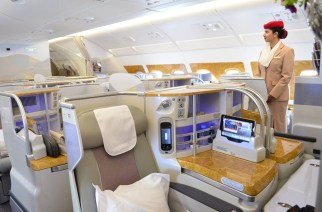 Inside Emirates Airbus A380 Which Touchdown In Ghana