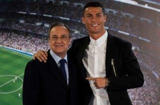 Florentino Pérez and Cristiano Ronaldo
